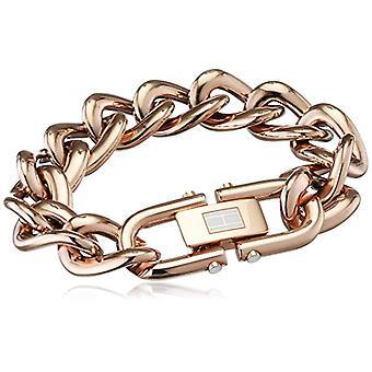 Tommy Hilfiger smycken 2700916 Classic Signature-emalj rostfrittstål kvinnors armband-20 -5 cm