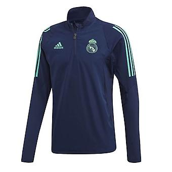 2019-2020 Real Madrid Adidas EU Training Top (Night Indigo)