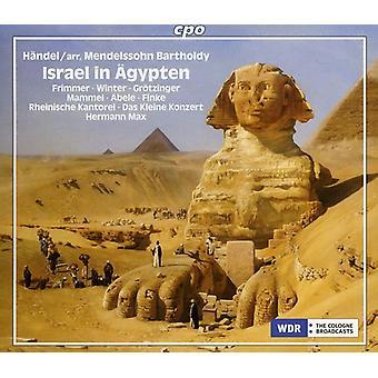 Handel/Mendelssohn - Handel (Arr. Menddelssohn): Israel in Agypten [CD] USA import