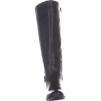 Alfani Womens Kallumm Fabric Almond Toe Knee High Fashion Boots