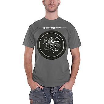 A Perfect Circle T Shirt Octocircle Tour 2018 new Official Mens Charcoal Grey