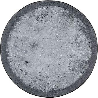 wash+dry doormat Shades of grey round carpet washable dirt mat