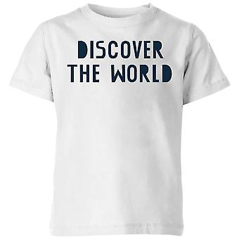 Discover The World Kids' T-Shirt - White