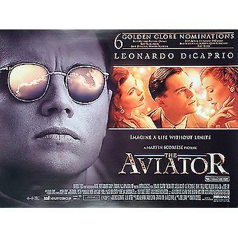 Aviator (kaksipuolinen) alkuperäinen elokuva juliste
