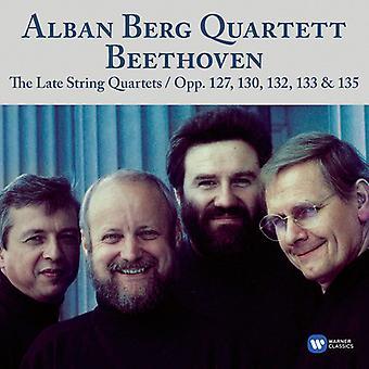 Alban Berg Quartett - Beethoven : Quat. Cordes Op.127, 130-133, 135 (Liv [CD] USA import