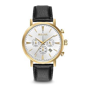ブローバ 97B155 メン&アポス;s クラシッククロノグラフ腕時計