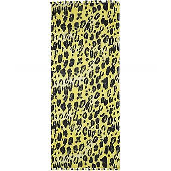Ahujasons Leopard Print Wool Scarf