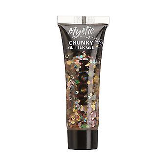 Mystic Chunky Glitter Gel di Moon Glitter - 12ml - Prosecco - Glitter Face Paint