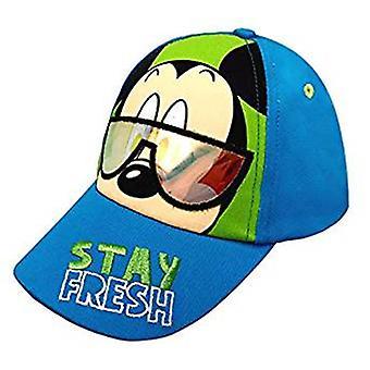 Baseball cap-Disney-Mikke Mus Hold deg frisk barn/gutter nye 396593