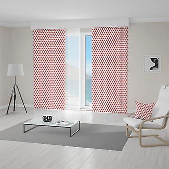 Meesoz Vorhänge - Dots Red