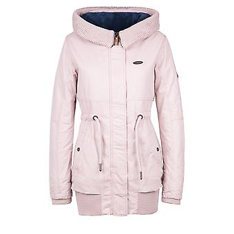 Alife and kickin Women's Winter parka sporty short coat Winter coat Selma earth Gr. M+L