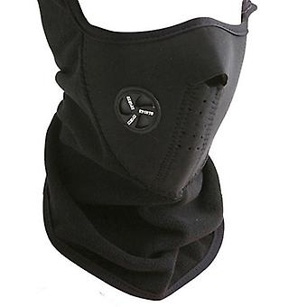 Neoprene Half Mask-Black