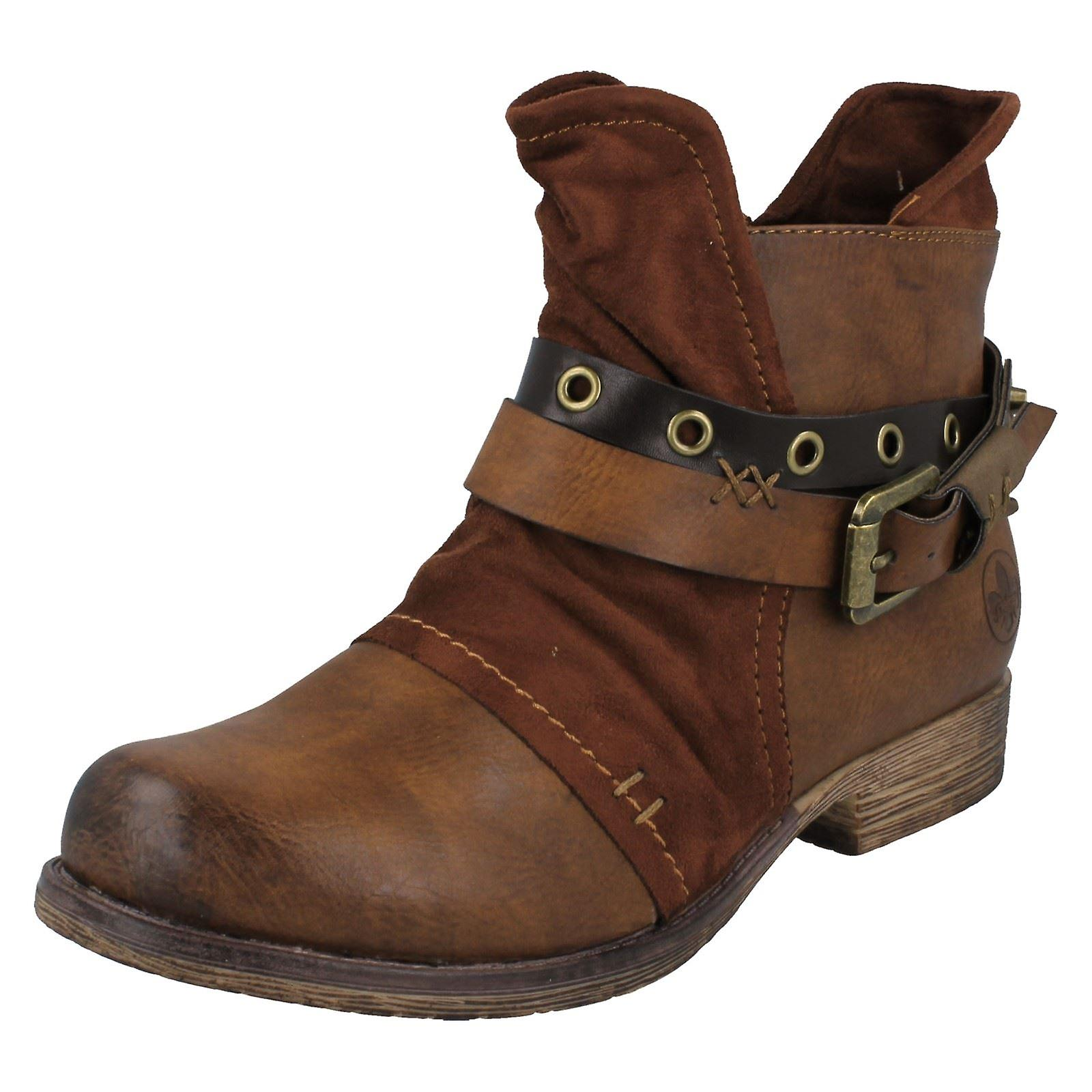 Ladies Rieker Ankle Boots 90268 llypF
