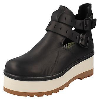 Ladies Caterpillar Ankle Boots Breeze Blocks