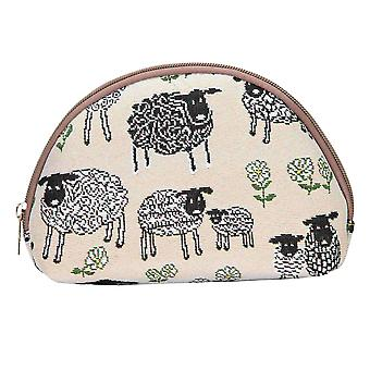 Spring lamb cosmetic bag by signare tapestry / cosm-splm