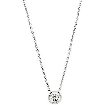 Necklace and pendant Ti Sento 3886ZI - necklace and pendant set round Zirconium wife money