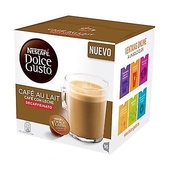 Koffie capsules Nescafé Dolce Gusto 97934 café au lait (16 ud's) cafeïnevrije