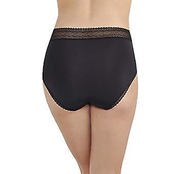 Vanity Fair Women's Flattering Lace Brief Panty 13281, Black,, Black, Size 9.0