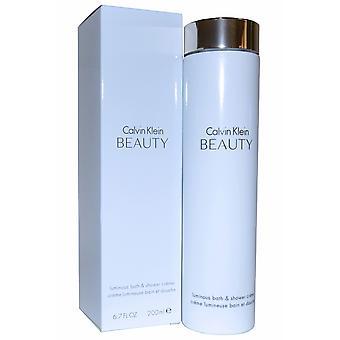 Calvin Klein CK Beauty Luminous Bath & Shower Creme 200ml