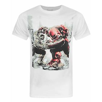 Jack Of All Trades Avengers Hulk VS Hulk Buster Men's T-Shirt
