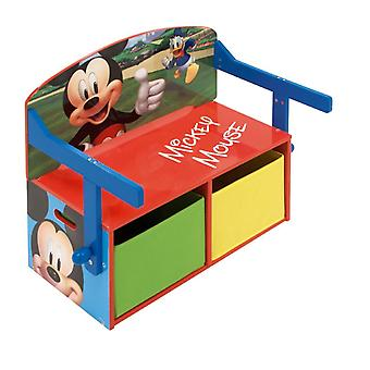Spiel 3 in 1 Mickey Mouse Wood
