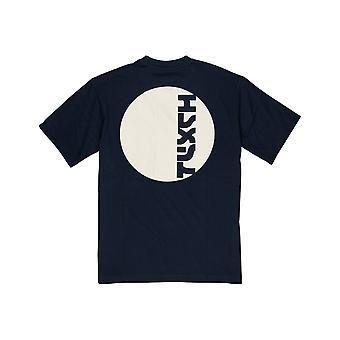 Element Arata Kurzarm T-Shirt in Indigo
