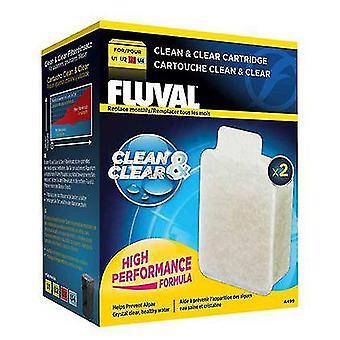 Fluval cartucho limpio y claro (peces, filtros y bombas de agua, filtro esponja/espuma)