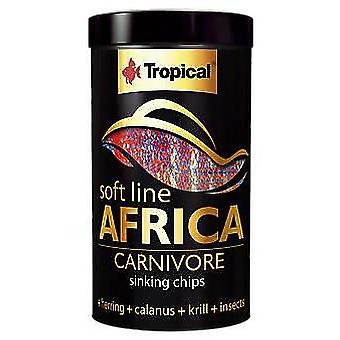 Tropical 67524 Soft Line Africa Carnivoros 250 ml (Fish , Food , Warm Water)
