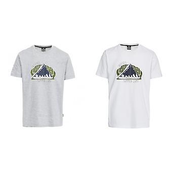 Hausfriedensbruch Mens Camp leger Kurzarm T-Shirt