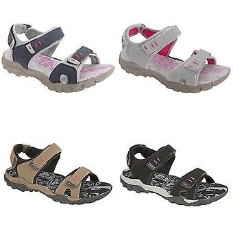 PDQ Womens/Ladies Toggle & Touch Fastening Sports Sandals
