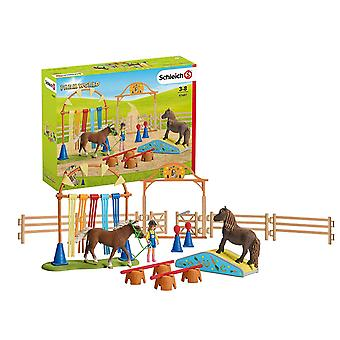 Schleich Farm World Pony Agility Training Playset