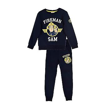Fireman sam boys tracksuit jogging set