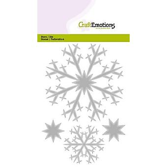 CraftEmotions Die - crystals large Card 10,5x14,8cm
