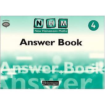 New Heinemann Maths: Answer Book Year 4 (NHM)