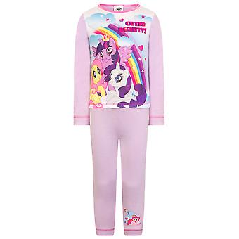 My Little Pony Official Gift Baby Toddler Girls Pyjamas Pinkie Pie Rainbow Dash