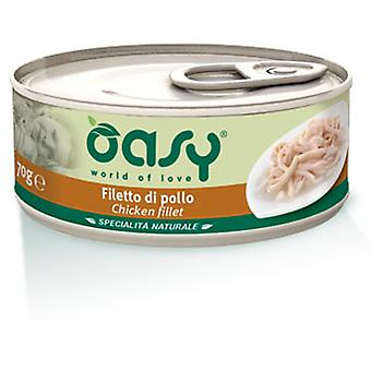 Oasy Can Chicken Fillet (Cats , Cat Food , Wet Food)