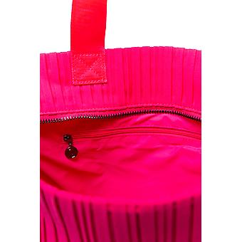 Desigual Pink 2 in 1 Gym Duffle Bag Pleats with Separate Toiletries Bag