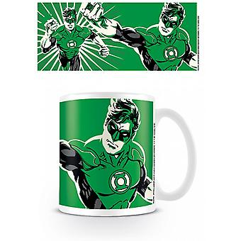 Tasse de couleur de lanterne verte de ligue de justice