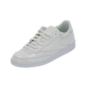 Reebok Classic CLUB C 85 PATENT Women's Sneaker White Gym Shoes Sport Running Shoes