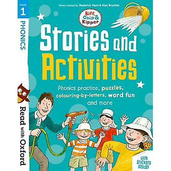 Read with Oxford Stage 1 Biff Chip and Kipper Stories an by Roderick Hunt