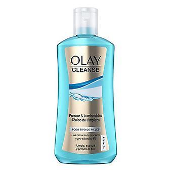 Kasvojen väriaine puhdistaa Frescor & Luminosidad Olay (200 ml)