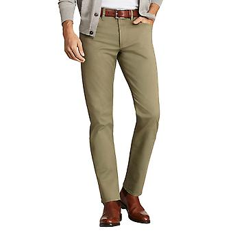 Brooks Brothers Men's Olive Slim Fit Trousers