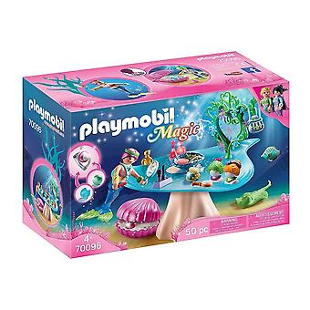 playmobil 70096 magic beauty salon with jewel case playset 50pcs for ages 4 and