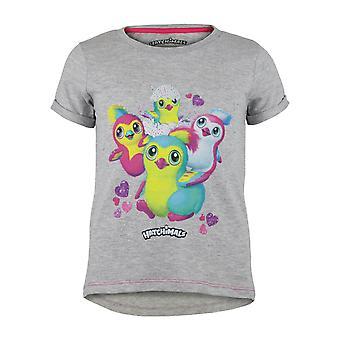 Hatchimals Penguala Girls T-Shirt   Official Merchandise