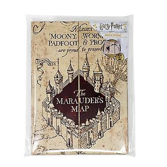 Blue Sky mallit Ltd Harry Potter Marauders Kartta A5 Notebook
