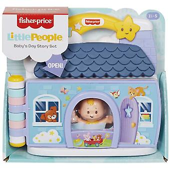 Fisher Pris Little People Baby & s Day Story Set