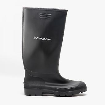 Dunlop Pricemastor Mens Non-safety Wellington Boots Black