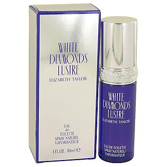 Elizabeth Taylor White Diamonds Lustre Eau de Toilette 30ml EDT Spray