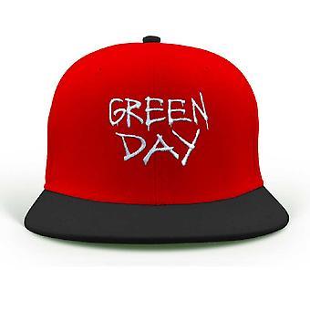 Green Day Baseball Cap Revolution Radio band Logo new Official Red snapback