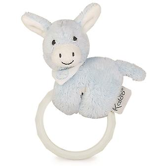 Kaloo Regliss Donkey Teether & Rattle Blue